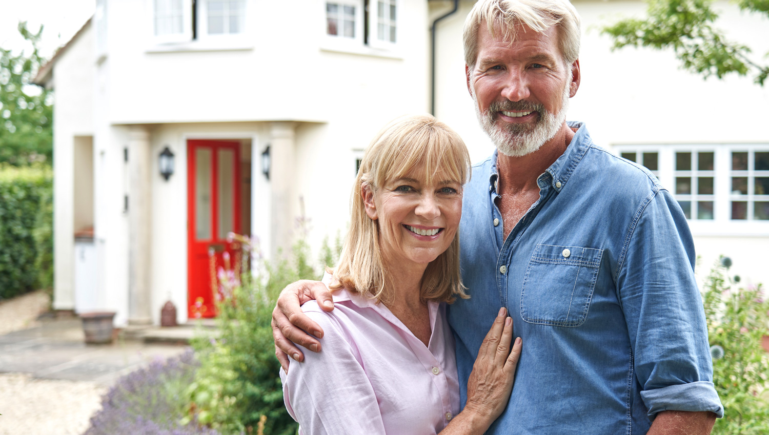 Equity release helps retired couple purchase a new home